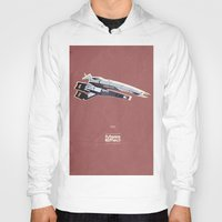 mass effect Hoodies featuring Mass Effect by Simon Alenius