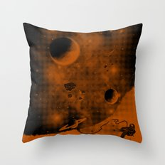 Lost in Negative Space Throw Pillow