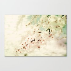 BRAVE LITTLE BLOSSOMS Canvas Print