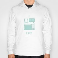 cook Hoodies featuring #WorkerEssentials - cook by EHILAB