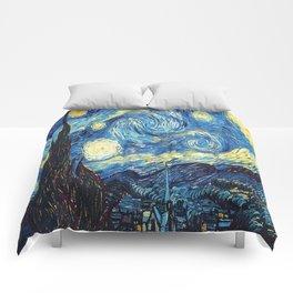 stary night re do Comforters