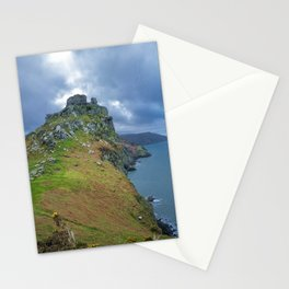 CASTLE ROCK VALLEY OF THE ROCKS EXMOOR DEVON Stationery Cards