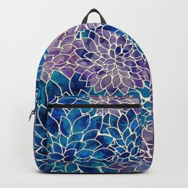 Floral Abstract 34 Backpack