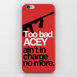 Acey Said 10% iPhone Skin