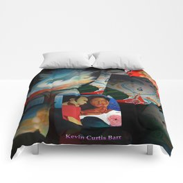 KEVIN CURTIS BARR 'S ART POSTERS Comforters