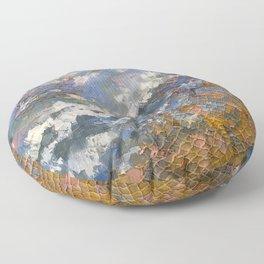 Seaside Textures Floor Pillow