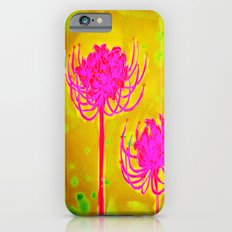 Spider Lily Flowers Slim Case iPhone 6s