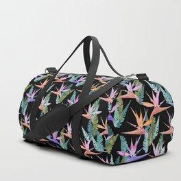 Birdie Tropical Black Duffle Bag