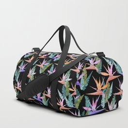 Birdie Tropical Black Duffle Bag
