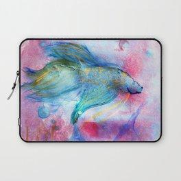Iridescent Abstract Betta Laptop Sleeve