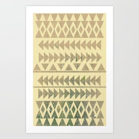 Earthtone Art Print