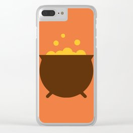 Witch cauldron Clear iPhone Case