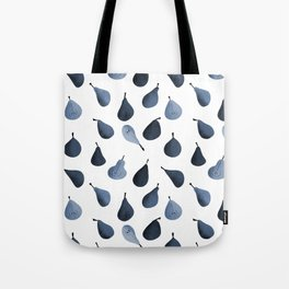 Pears pattern in cyanotype Tote Bag