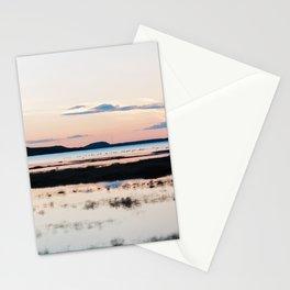 Sunset in Iceland - nature landscape Stationery Cards