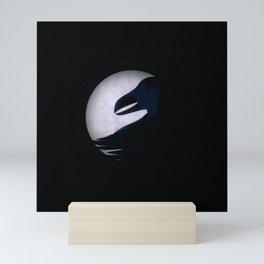 Darkness More Than Night Mini Art Print