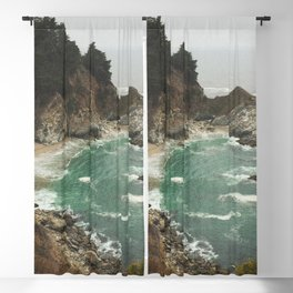 Big Sur - Julia Pfeiffer Blackout Curtain