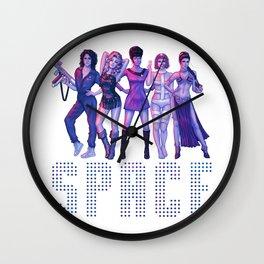 SPACE GIRLS Wall Clock