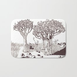 Quiver Tree Forest - Namibia Bath Mat