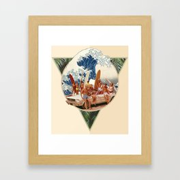 Surf Beat Framed Art Print