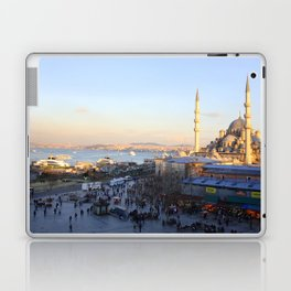 Bazaar and a mosque in Istanbul  Laptop & iPad Skin