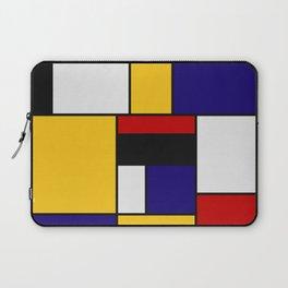 Mondrian De Stijl Art Movement Laptop Sleeve