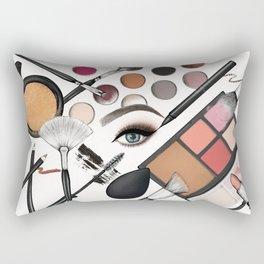 Makeup Looks – The Classic Glam Rectangular Pillow