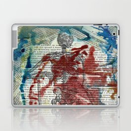 Vesalius Grave digger Laptop & iPad Skin