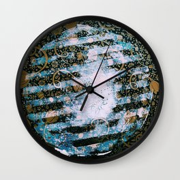 Full Harvest Moon Wall Clock