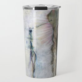 Gesso Geisha by Jane Davenport Travel Mug