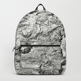 bump abstract Backpack