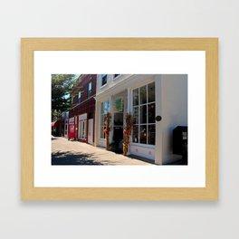 Downtown Perrysburg II Framed Art Print