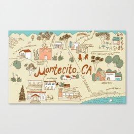 Montecito Canvas Print