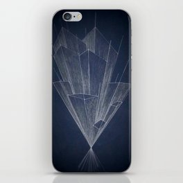 Disappearing point 2 iPhone Skin