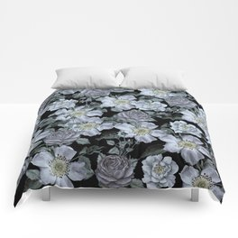 Roses at Night Comforters