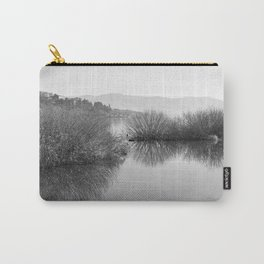 Lakescape in bw Carry-All Pouch