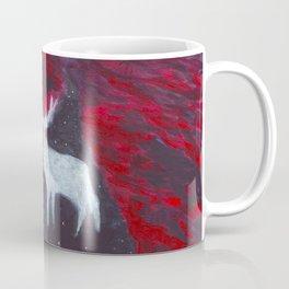 White Deer Coffee Mug