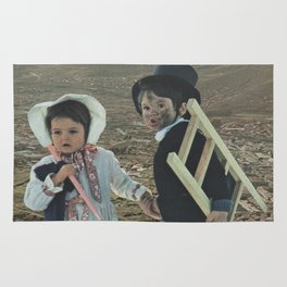 Two Little Explorers Rug