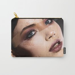 Painted Girl Carry-All Pouch