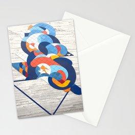 Sao Paulo urban wall Stationery Cards