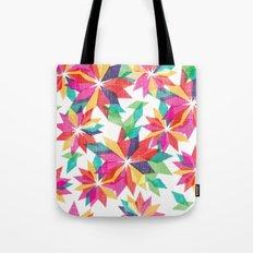 Geo Floral Tote Bag