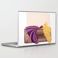 sleeping beauty Laptop & iPad Skins featuring Sleeping beauty by Orelly