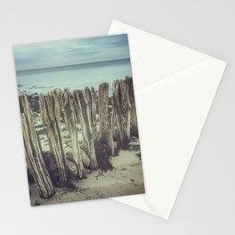 Walrus teeth still standing Stationery Cards