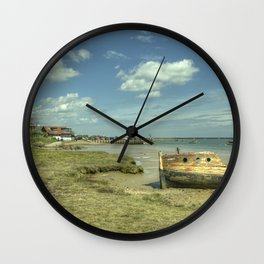 Orford old Boat Wall Clock