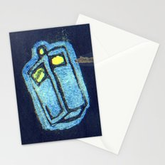 Doctor Who: Abstract Tardis Starfield Stationery Cards