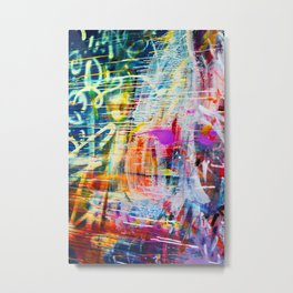 FLOWS Metal Print