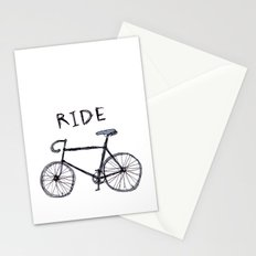 bike ride Stationery Cards