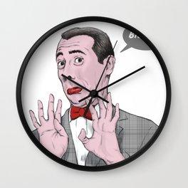 Pee Wee Herman #1 Wall Clock