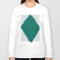 knitting Long Sleeve T-shirts featuring Knitting by Diogo Coito