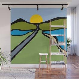 Road Trip Wall Mural