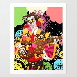 Afterlife's a Party Art Print
